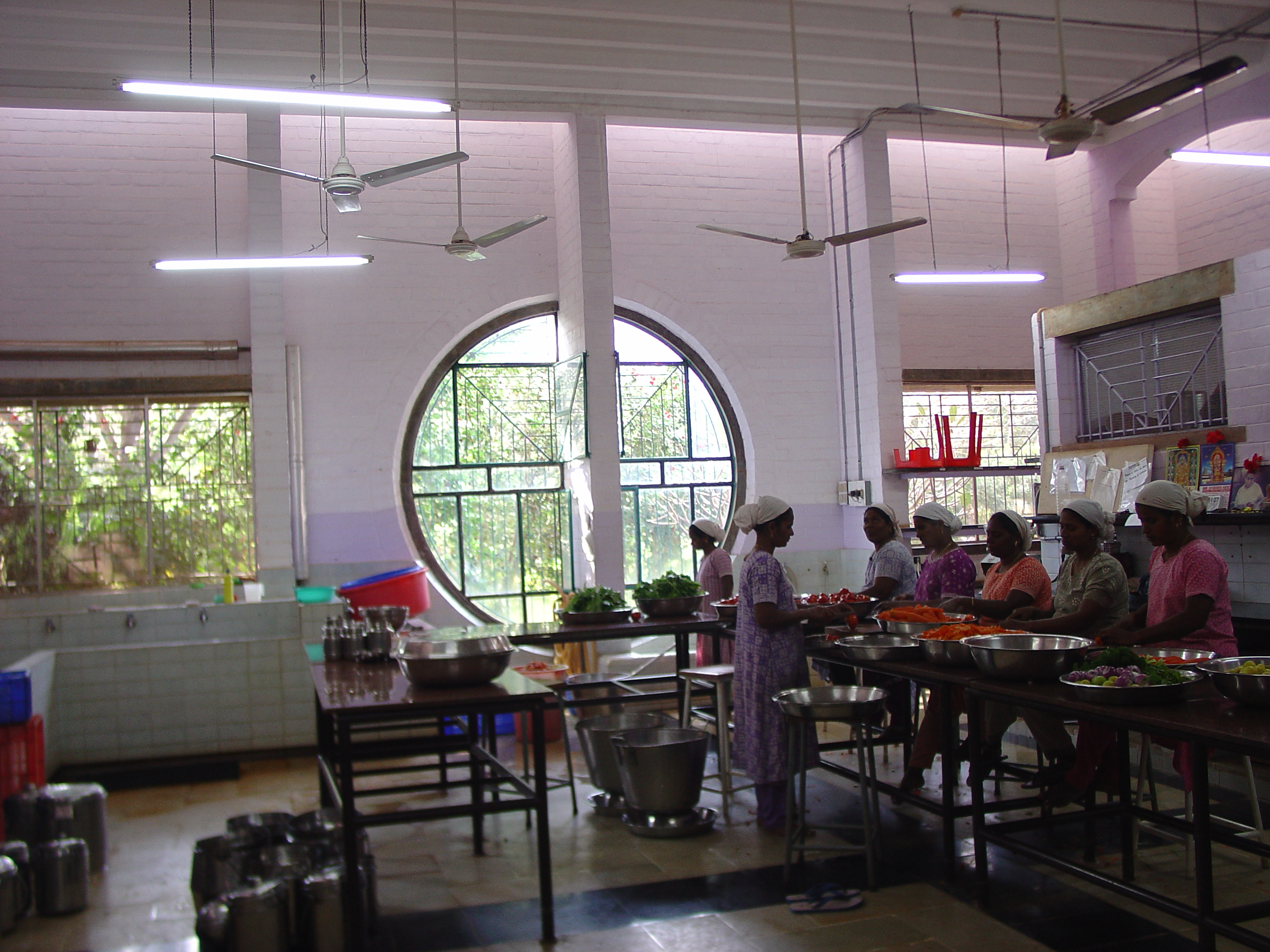 Solar Kitchen Auroville Menu