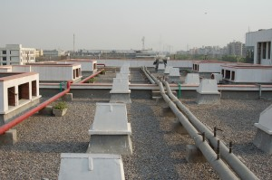 Roofcooling-system